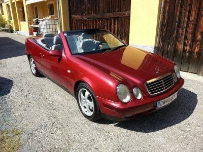 Mercedes 320 CLK Cabrio