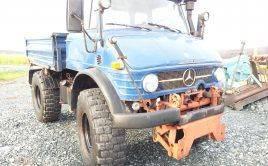 UNIMOG 406 2x Zapfwelle Hydraulik Kipper beheizbar uvm guter Zustand