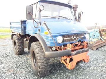 UNIMOG 406 2x Zapfwelle Hydraulik
