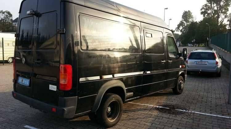 VW LT 45 PANZER / Geldtransporter 156 PS LKW 4,5 Tonner