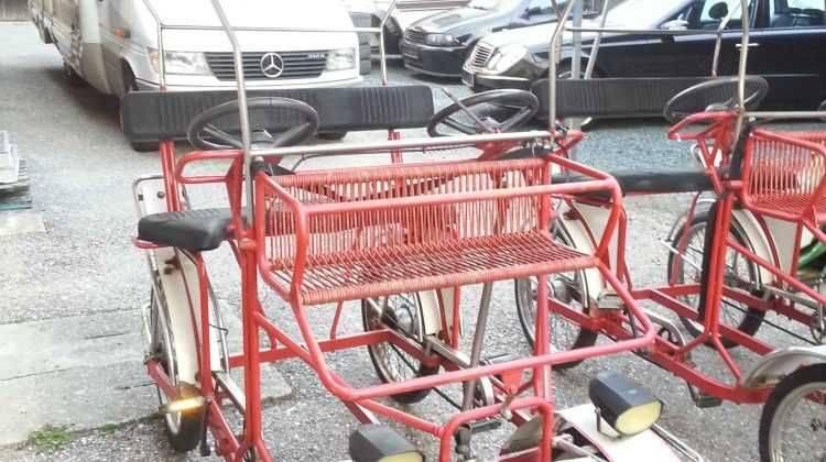 4er Fahrrad mit Dach sehr selten SUPER spass !!!