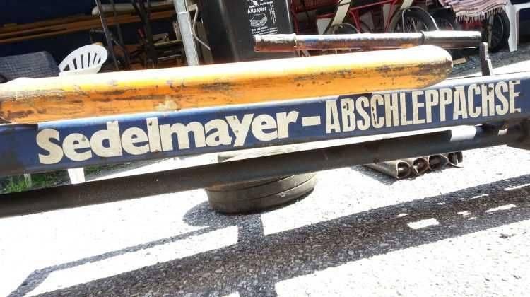 Sedlmayer ORIGINAL HYDRAULIK Schleppachse sehr guter Zustand RAR !!!