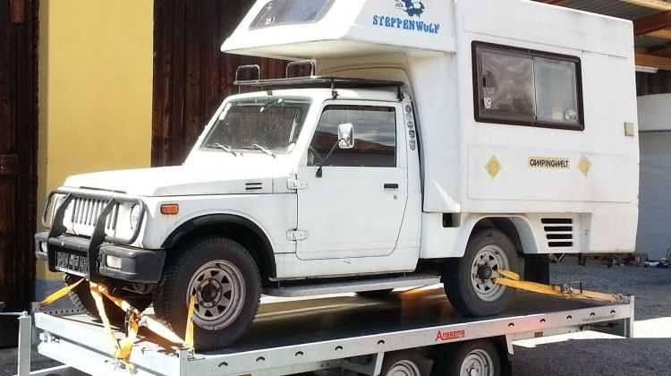 RARITÄT Original SUZUKI mit Wohnmobilaufbau !!! Sehr sehr Selten Typisiert