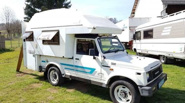 RAR RAR RAR Suzuki WOHNMOBIL mit nur 100tkm in Top Zustrand , mit Wohnaufbau …