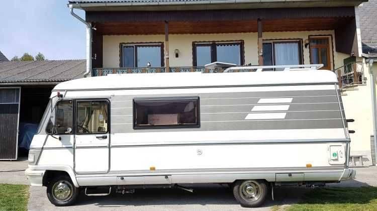 HYMER Mercedes S Klasse 670 Mercedes Basis 95 PS -B Führerschein FS B 3500 kg