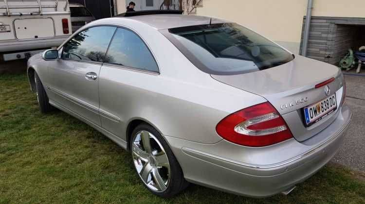 RARITÄT 500er CLK Coupe Absolute Vollausstattung TOP
