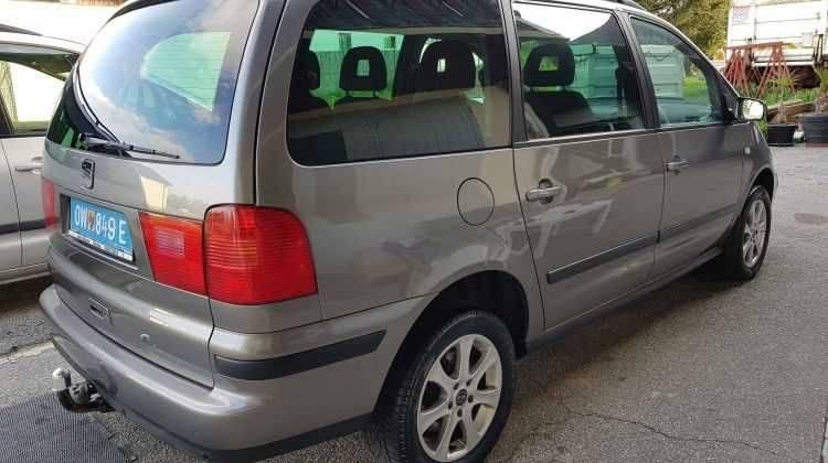 TOP Seat 1.9 DIESEL Alhambra Allrad 4×4 2008 mit nur 140tkm