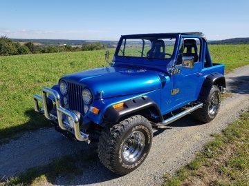 Jeep CJ-7 Allrad * Absolutes Liebhaberfahrzeug * CJ7 / CJ5 / YJ / Willys / Jeep / Offroad / 4×4